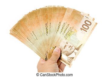 dollars, canadees