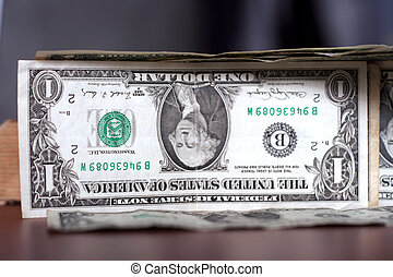 dollars - abstract with dollar