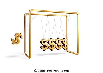 Dollars cradle
