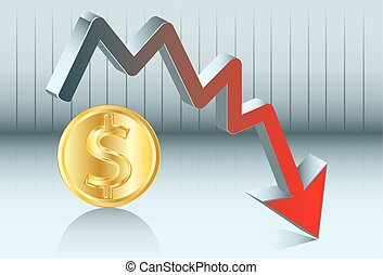 dollar's fluctuations - Dollar is going down