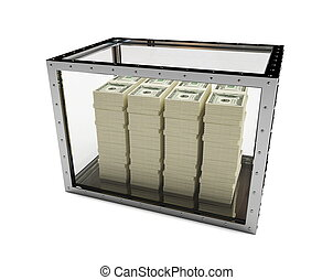 dollars for glass