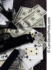 dollars, gangster, jeu, clasic, mafia, encore, fusils