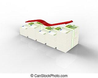 Dollars graph