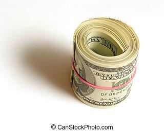 dollars in roll
