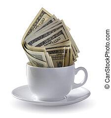 dollars, kopp