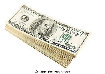 dollars, nous