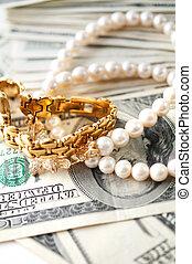 dollars, smycken