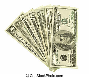 Dollars - All dollar denomination in order from the smallest...