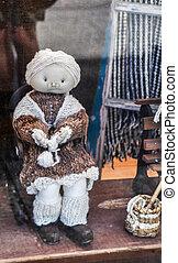 Dolls on Chiloe Island, Chile