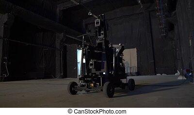 Dolly camera film equipment professional studio video production tools camera movement