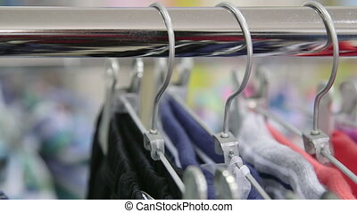 Dolly: Clothes on Hangers