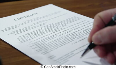 DOLLY: Seller signing contract