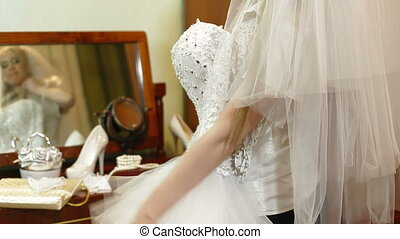 DOLLY:  Wedding Dress