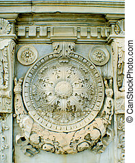 Dolmabache stone work - The beautiful stone work in...