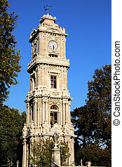 Dolmabahce Clock Tower Istanbul