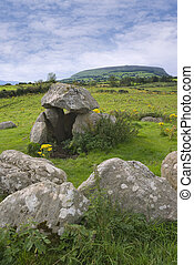 Dolmen at Carrowmore megalithic cemetary - Ancient ...