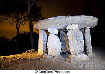 Vallgorguina Dolmen is a monument that has about 4,000 years old