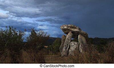 dolmen, zeit- versehen