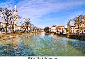 Dolo, Venezia - Dolo, Venice, Italy: Along Brenta River