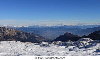 Dolomite Alps, Italy - Mountain landscape of Dolomite Alps...
