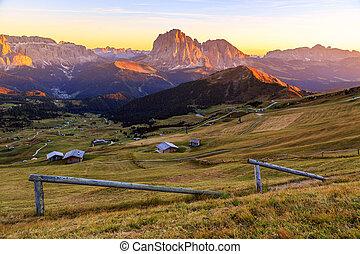 Dolomites Alps in Summer