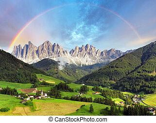 Dolomites alps, Mountain - Italy