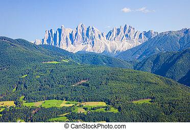 Dolomites alps mountain