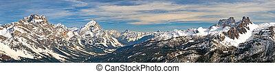 Dolomites at Cortina D'Ampezzo, Italy