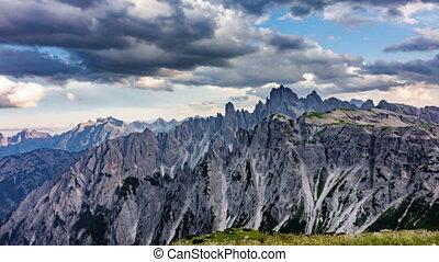 Dolomites drawing time lapse