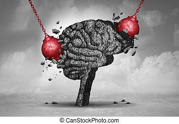 dolor, dolor de cabeza