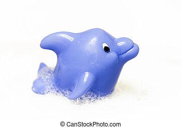 Dolphin children bath toy