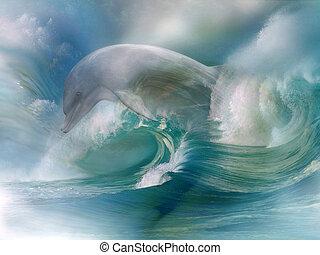 Dolphin In The Ocean
