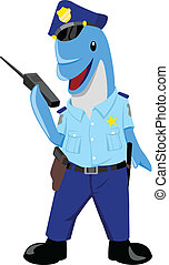 Dolphin Policeman