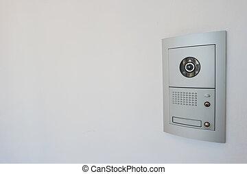 domácí telefon, video