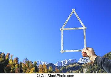 dom, śni