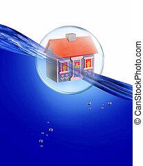 dom, bubble.