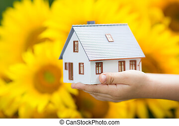 dom, children`s, siła robocza