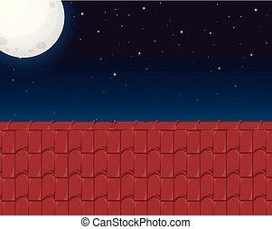 dom, dach, prospekt