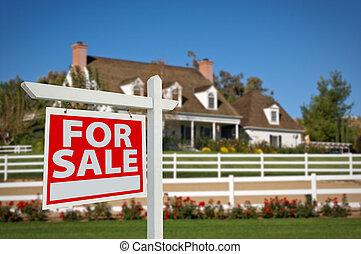 dom, dla sprzedaży, realność znaczą, i, dom
