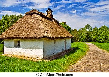 dom, ethnical, wieś