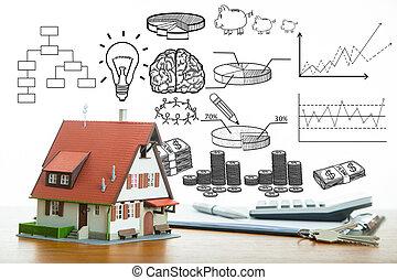 dom, koszt, twój, budżet, oprócz