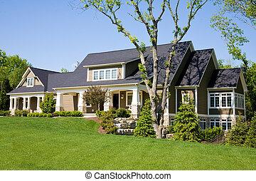 dom, kosztowny