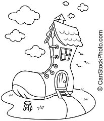 dom, lina sztuka, bucik