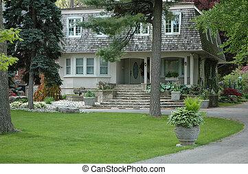 dom, niezwykły