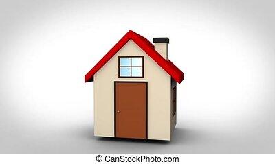 dom, ożywienie, video, 3d