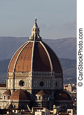 Dom of Florence in Tuscany, Italy