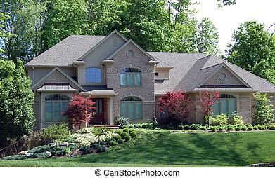 dom, piękny