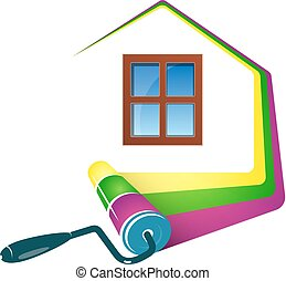 dom, projektować, malarstwo