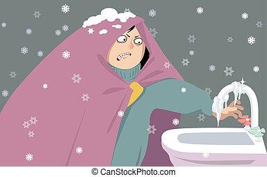 dom, przeziębienie