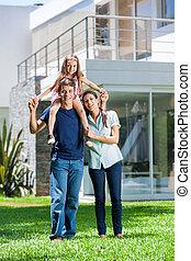 dom, rodzina, cielna